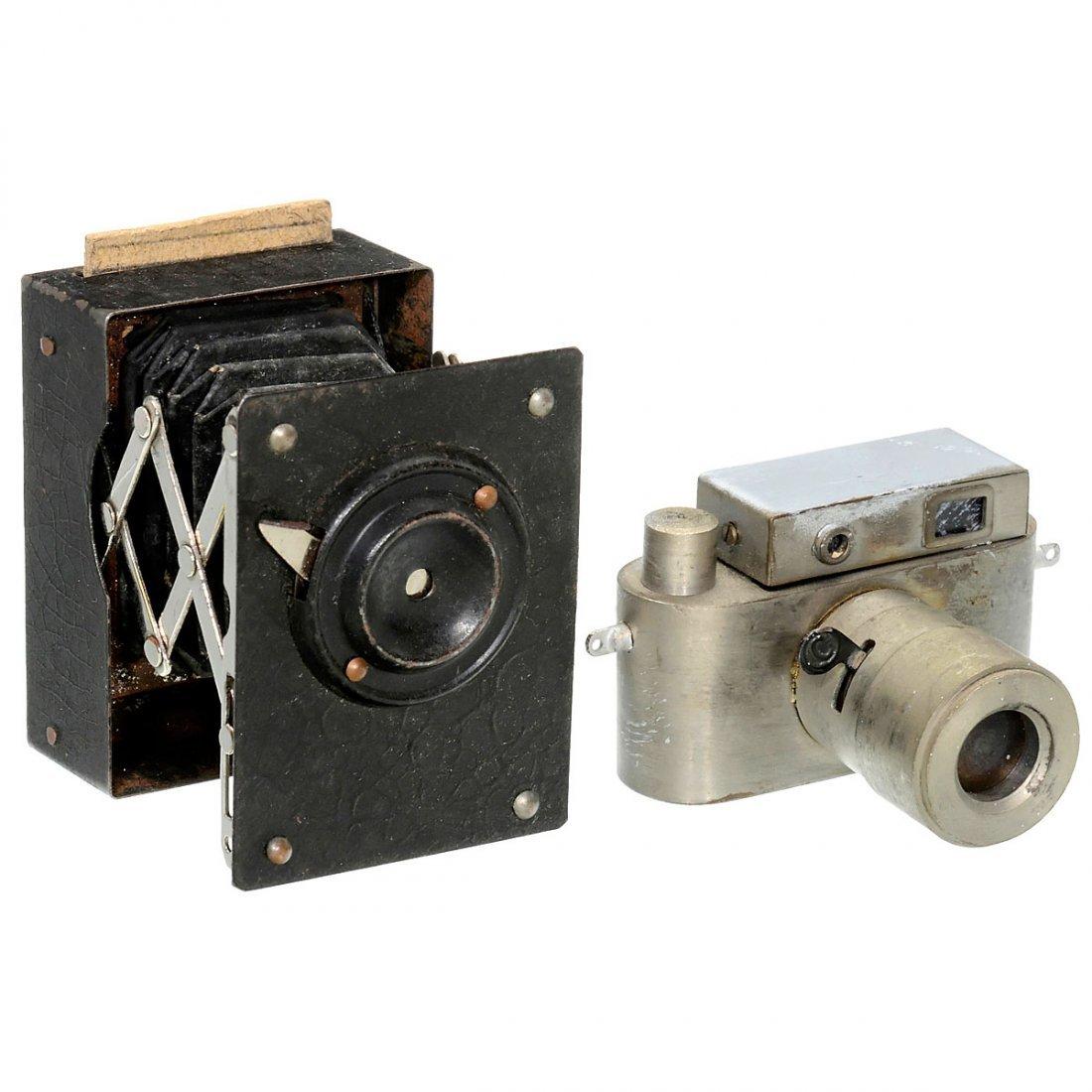 2 Unusual Subminiature Cameras