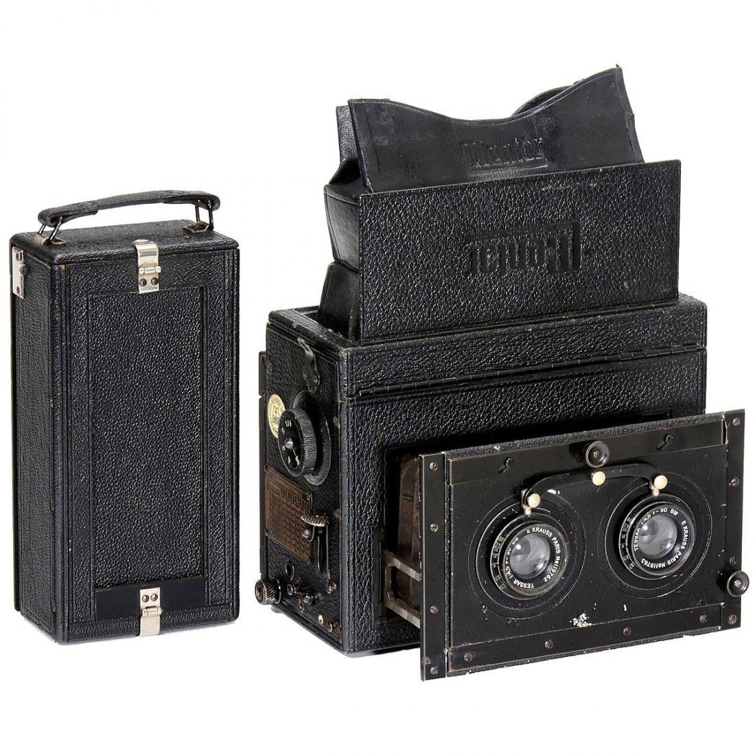 Mentor Stereo-Reflex 6 x 13, c. 1915