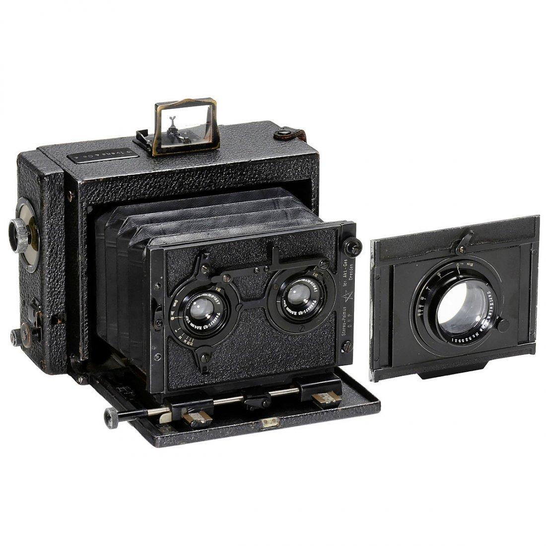 Ica Stereo-Klapp-Palmos 9 x 12, 1912
