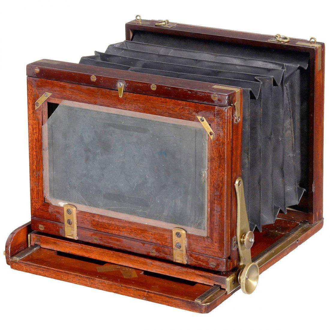 "English Stereo Camera for ""Sliding Lens Board"", c. 1880 - 2"