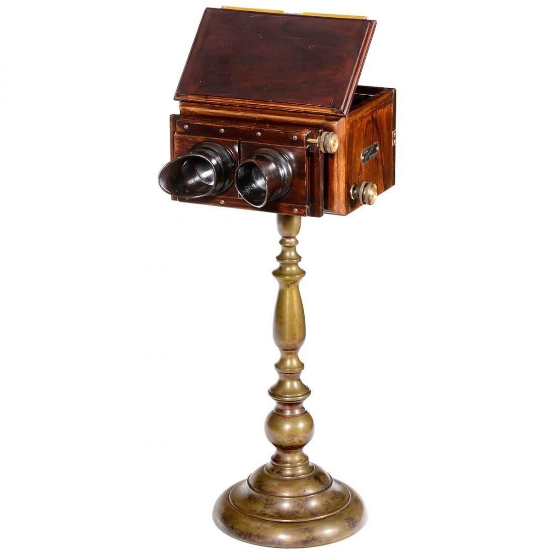 Primus Perfect Stereoscope 9 x 18, c. 1897