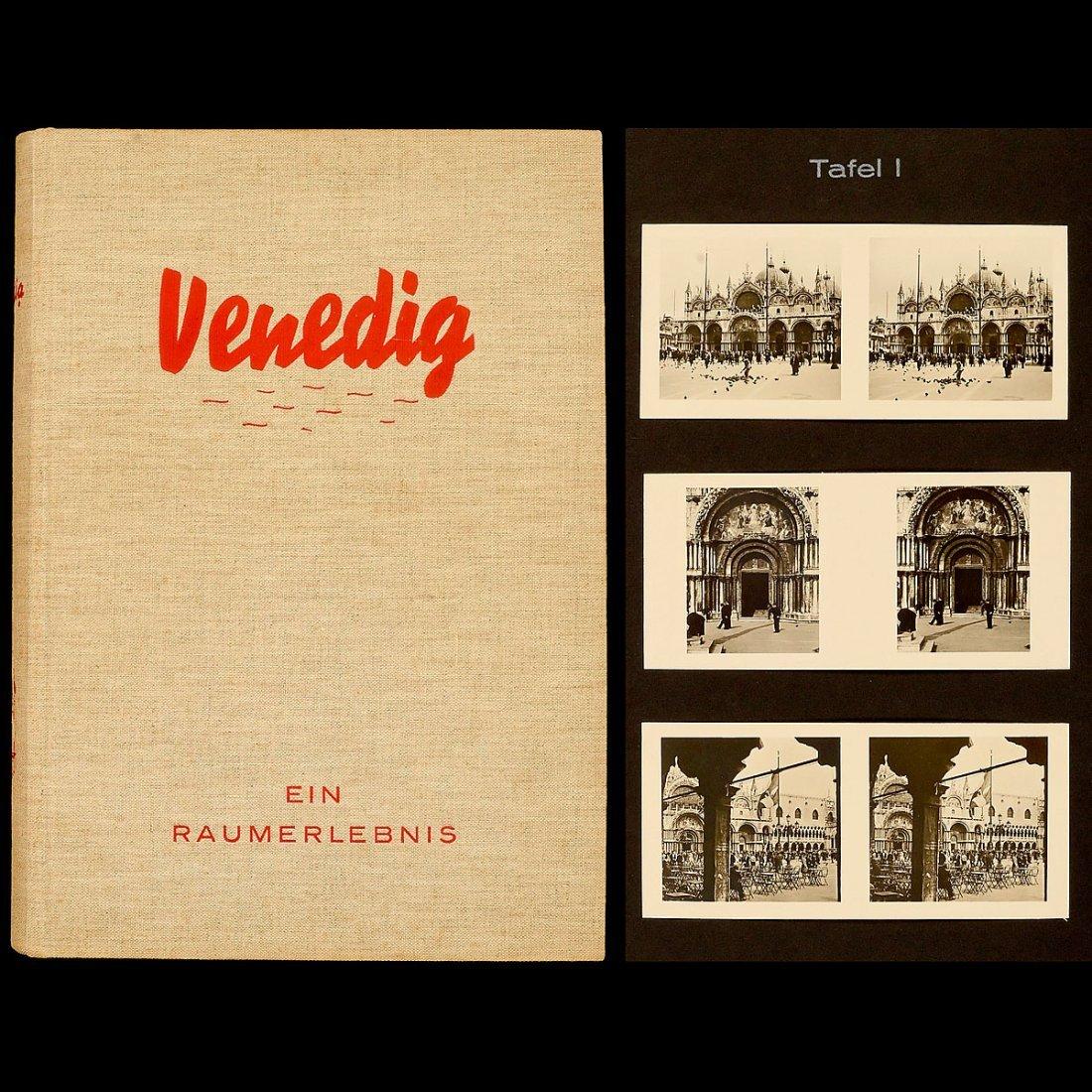 """Raumbild Album """"Venedig – Ein Raumerlebnis"""", 1935"""