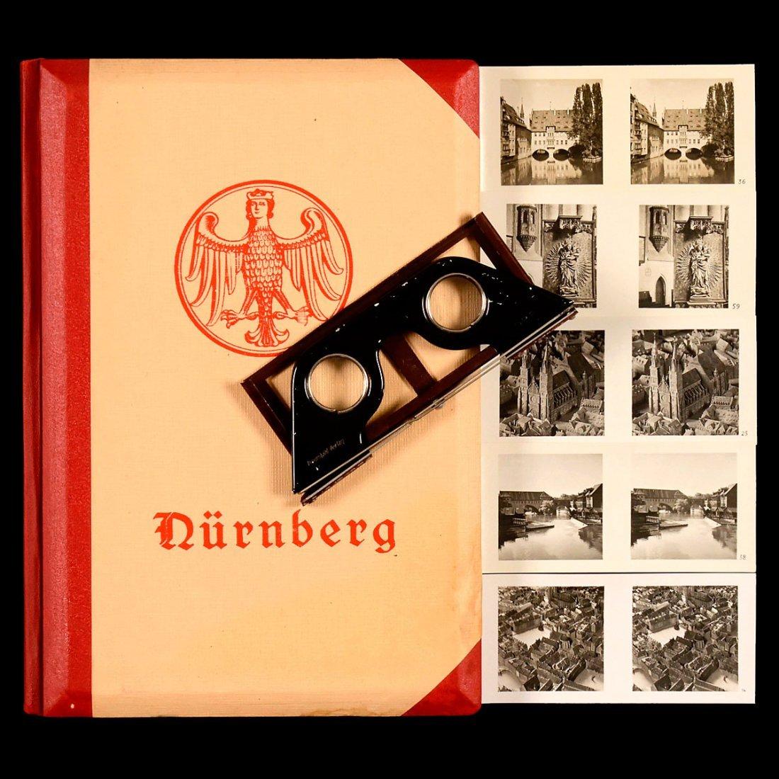 """Raumbild Album """"Der Stadt Nürnberg Ursprung und"""