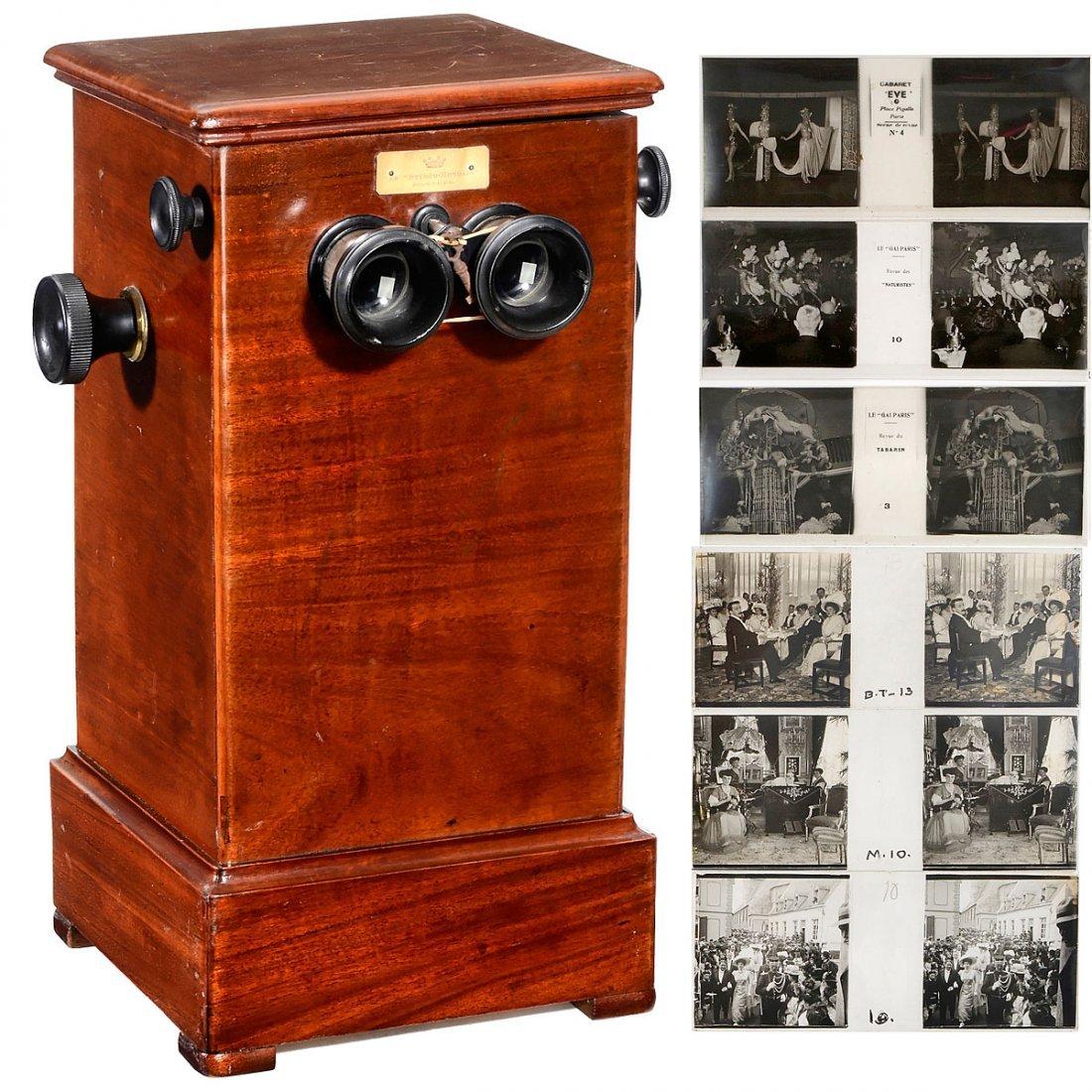 Chain-Type Richard Stereo Viewer, c. 1910