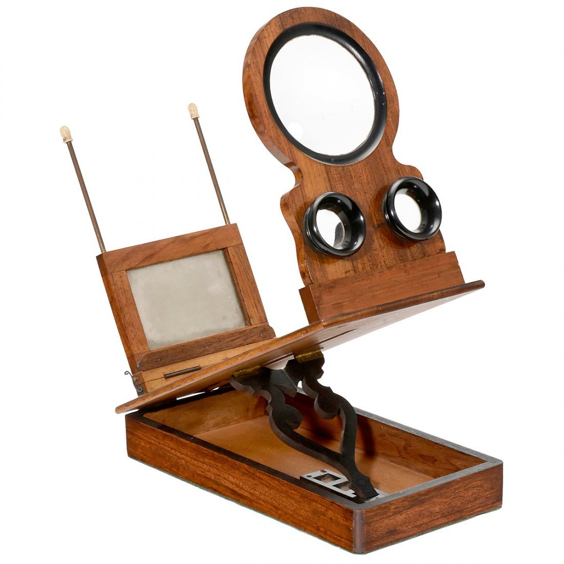 Stereo Graphoscope for Pictures and Slides, c. 1900