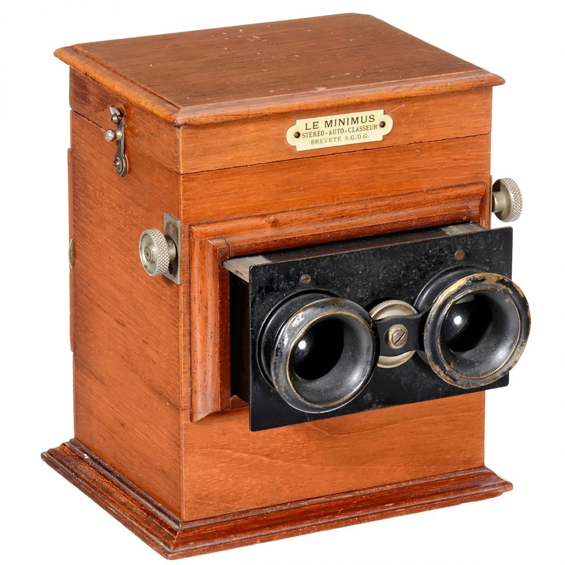 """Le Minimus"" Table-Top Stereo Viewer, 1907 onwards"