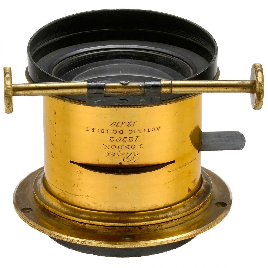 Ross Actinic Doublet 12 x 10, No. 12202, c. 1862