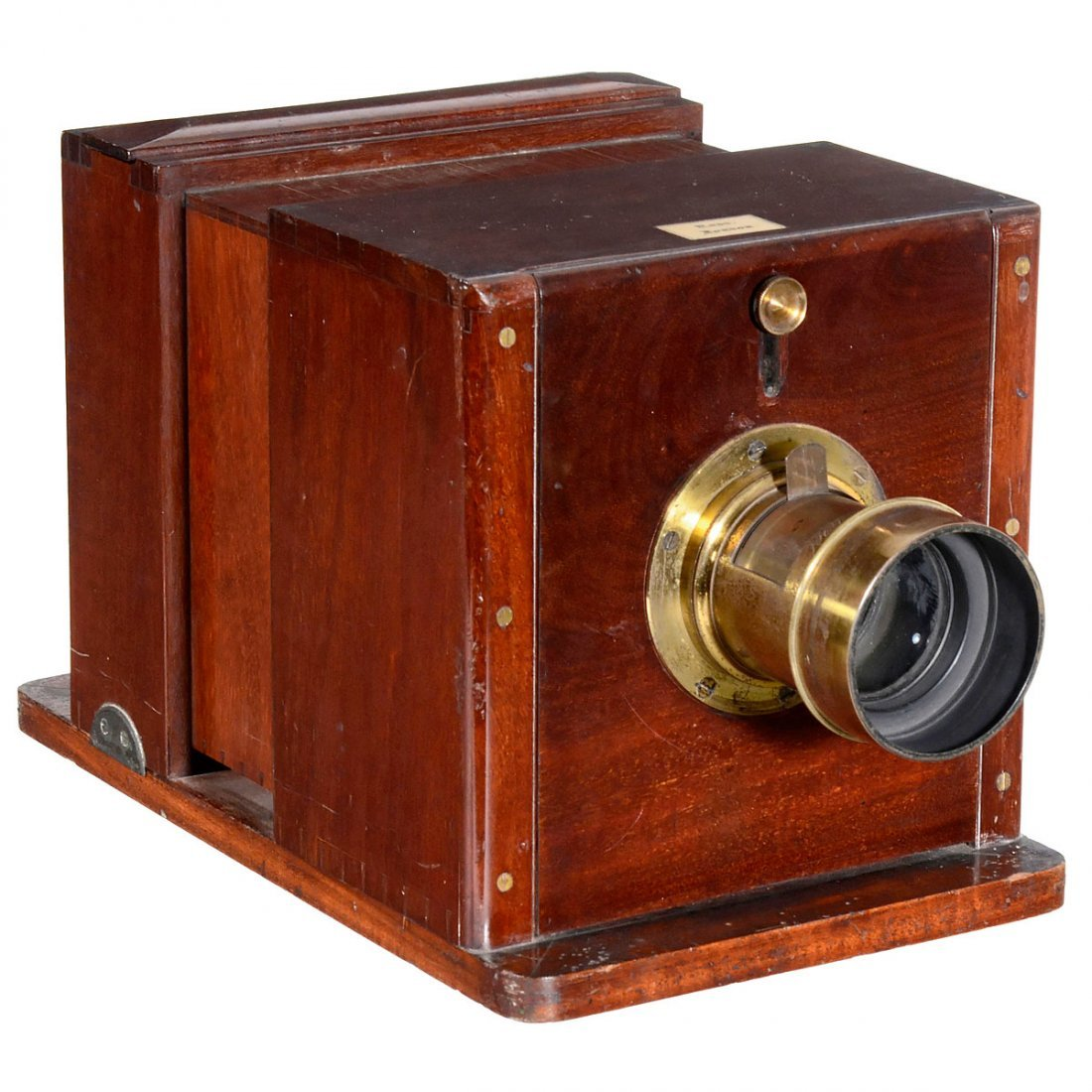 Wet Plate Sliding Box Camera By Ross C 1858