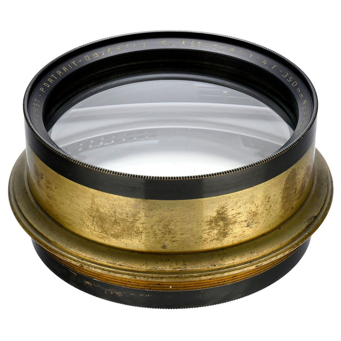 Rare Plasticca 4/350 mm Art Portrait Lens, c. 1920