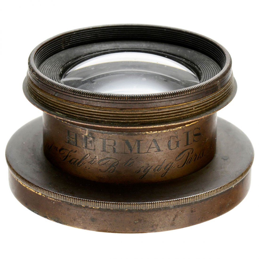 Globe Wide-Angle Lens by Hermagis, Paris, No. 18267, c.