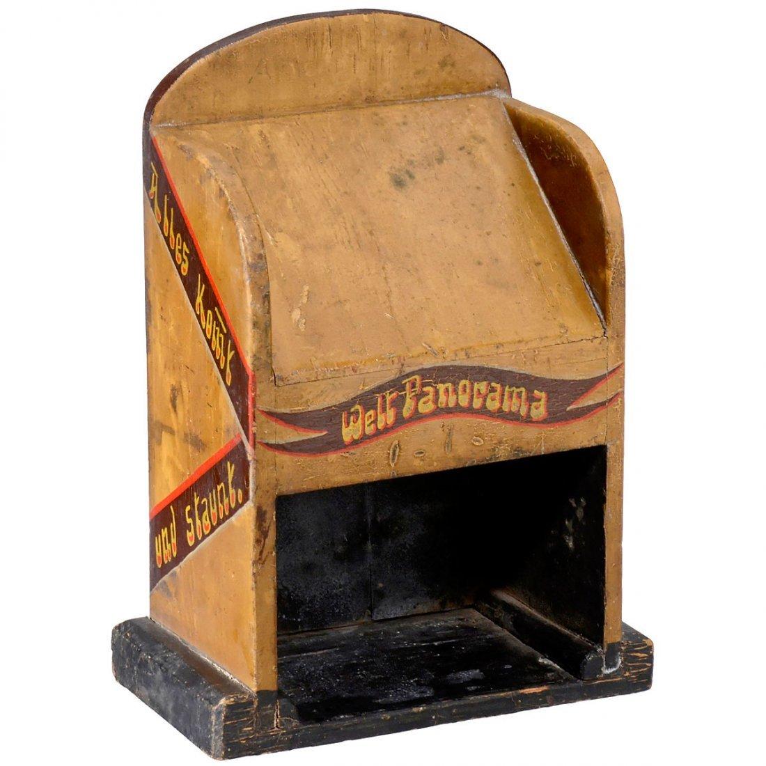 German Peep-Show Box, c. 1930 - 2