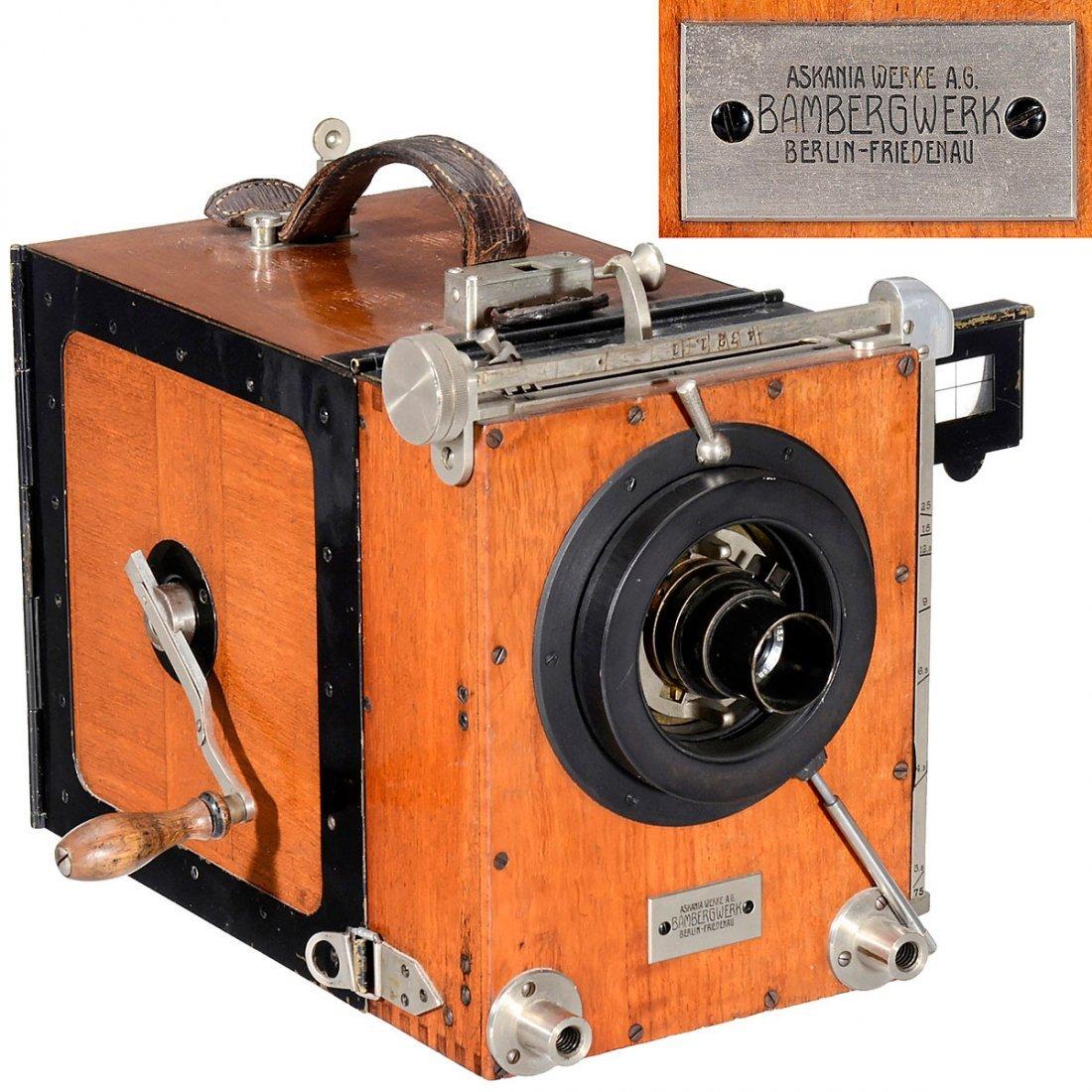 35mm Askania-Universal Movie Camera, c. 1920