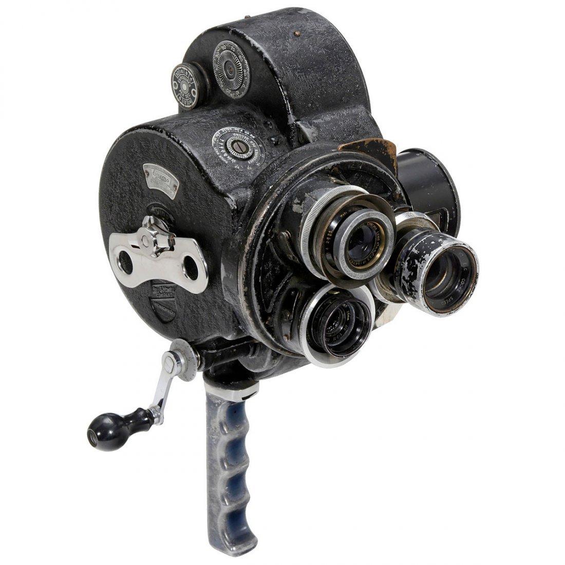 Eyemo 71C 35 mm Movie Camera, c. 1938