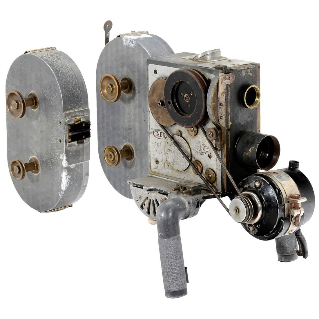 Cinex 35mm Movie Camera, c. 1925