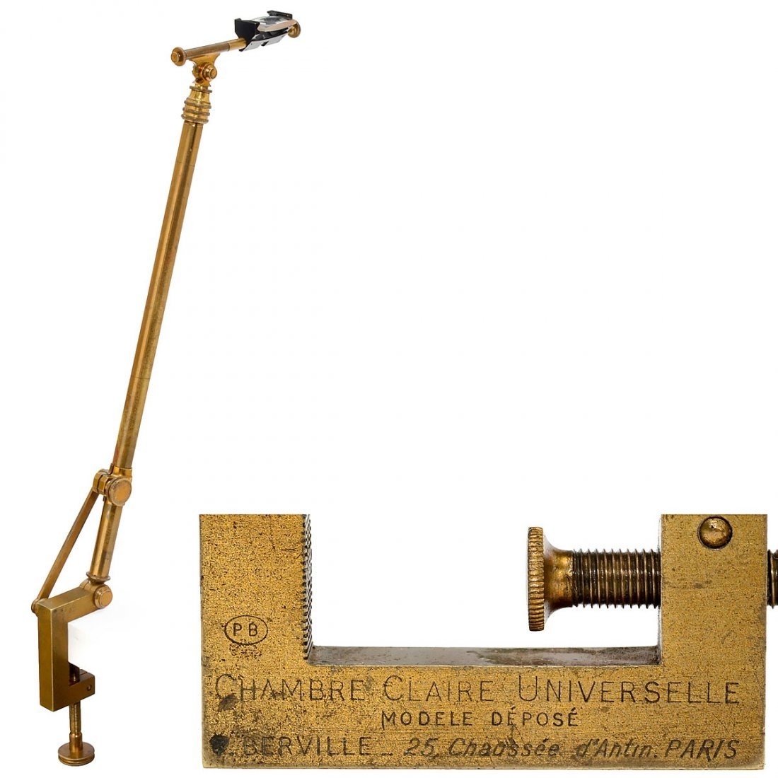 "Camera Lucida or ""Chambre Claire Universelle"", c. 1900"
