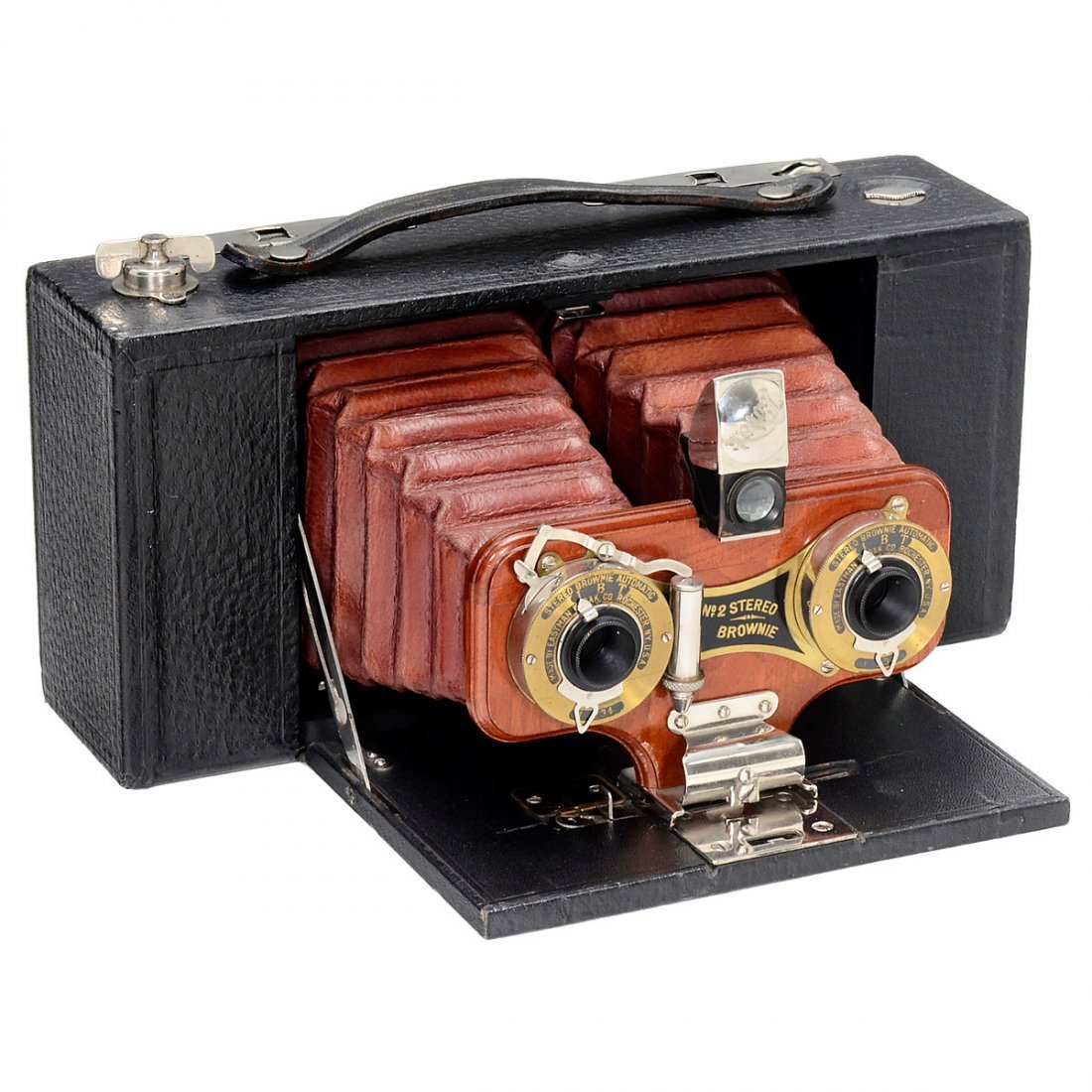 Kodak No. 2 Stereo Brownie, 1905