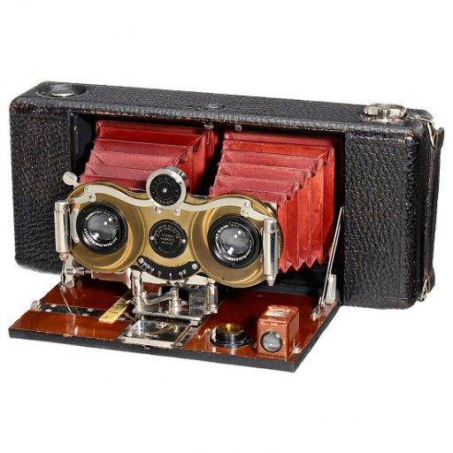 Kodak Stereo Hawk Eye Camera Model 6 C 1916 Sep 23 2016 Auction Team Breker In Germany