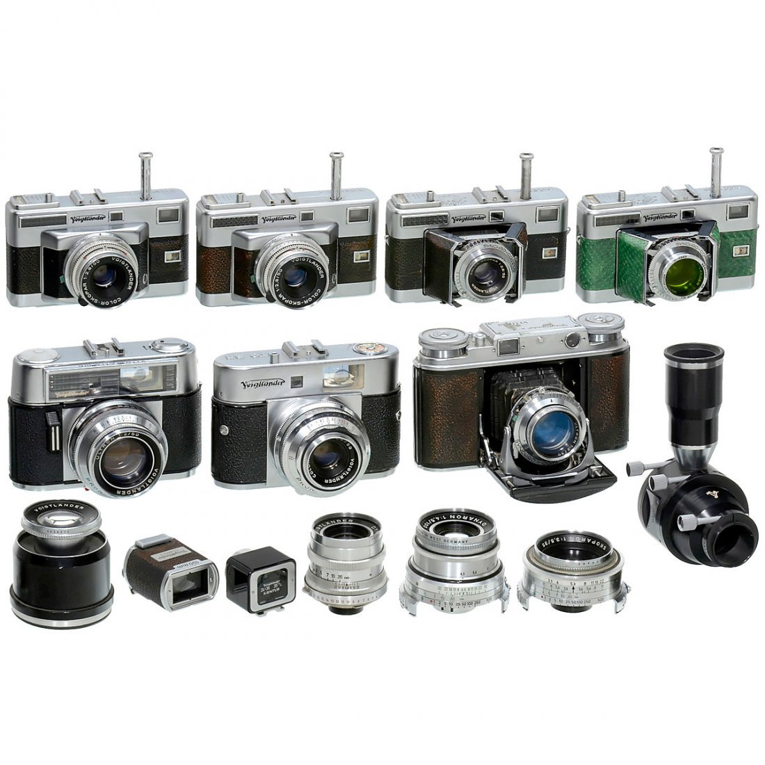Voigtländer 35 mm Cameras and Lenses