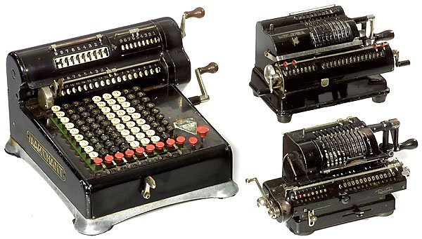 3: 3 Calculating Machines calculator Rechenmaschine
