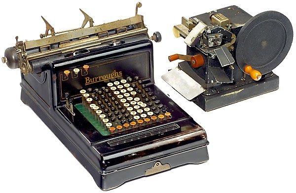 6: Burroughs Class III/Pike, 1909  calculator Rechenmas