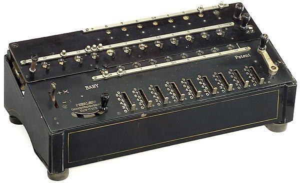 17: Peerless Baby, 1904 calculator Rechenmaschine