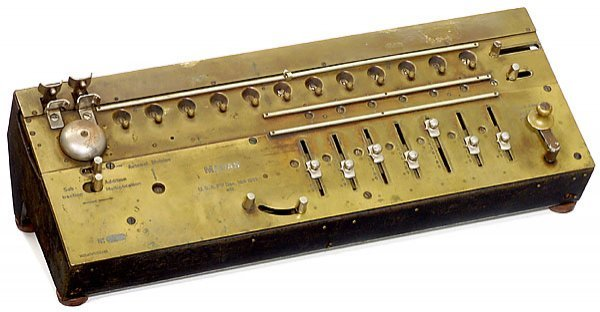 20: Madas, 1908 calculator Rechenmaschine+B24