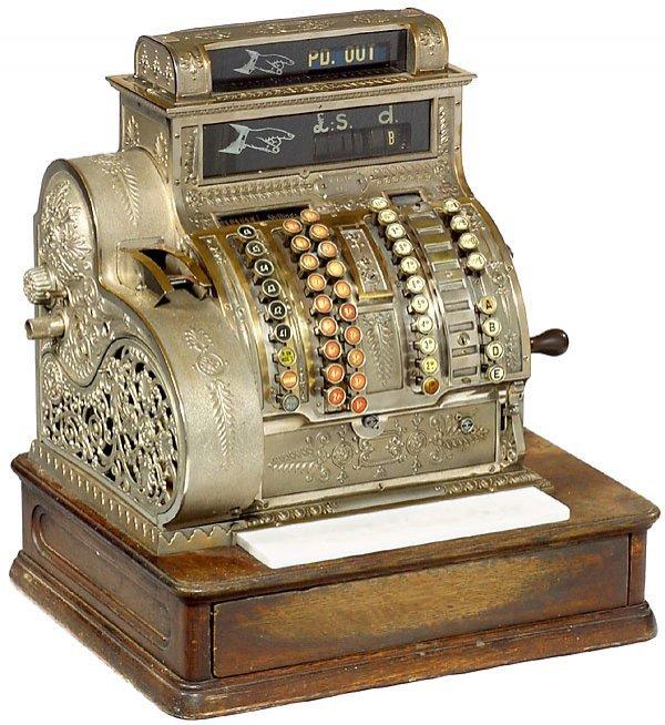 23: Cash Register National Mod. 442, c. 1915 Registrier