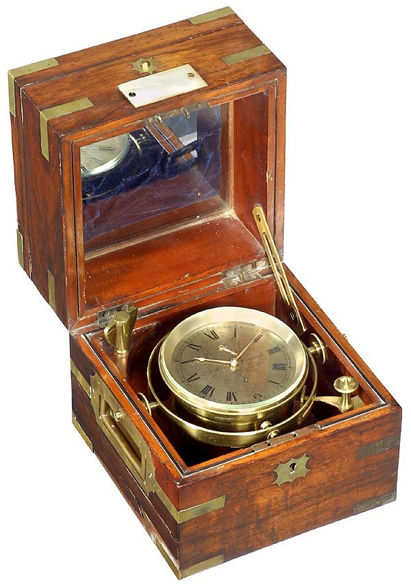 153: Two-Day Marine Chronometer Rich Hornby, Liverpool,