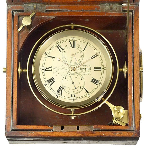 153: Two-Day Marine Chronometer Rich Hornby, Liverpool, - 2