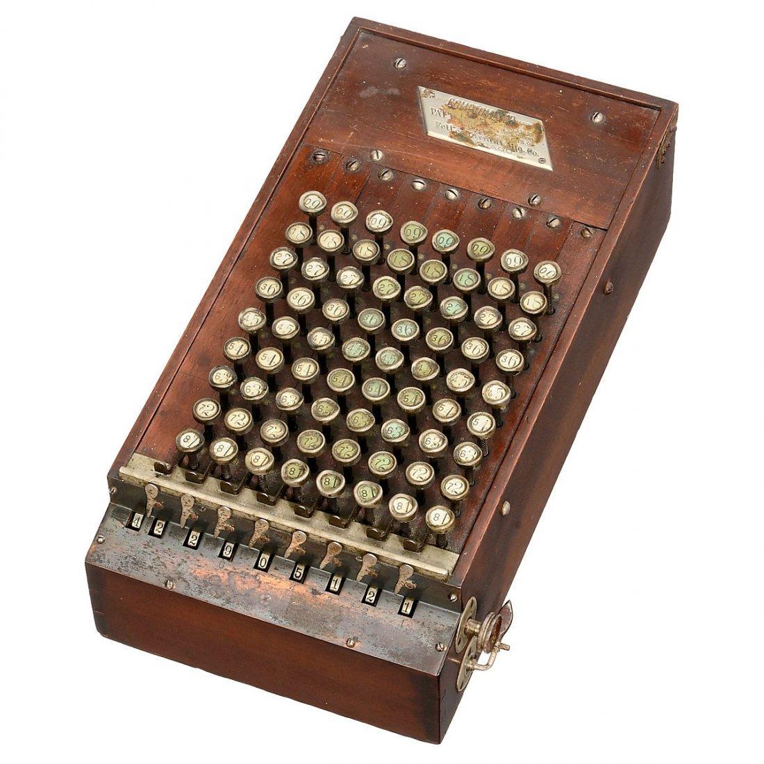 Comptometer Mod. 1, 1887