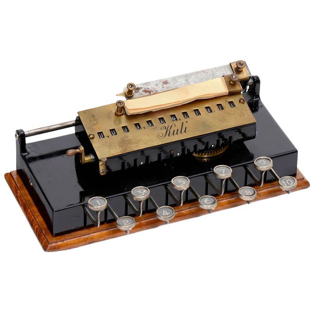 Kuli Calculating Machine, 1909