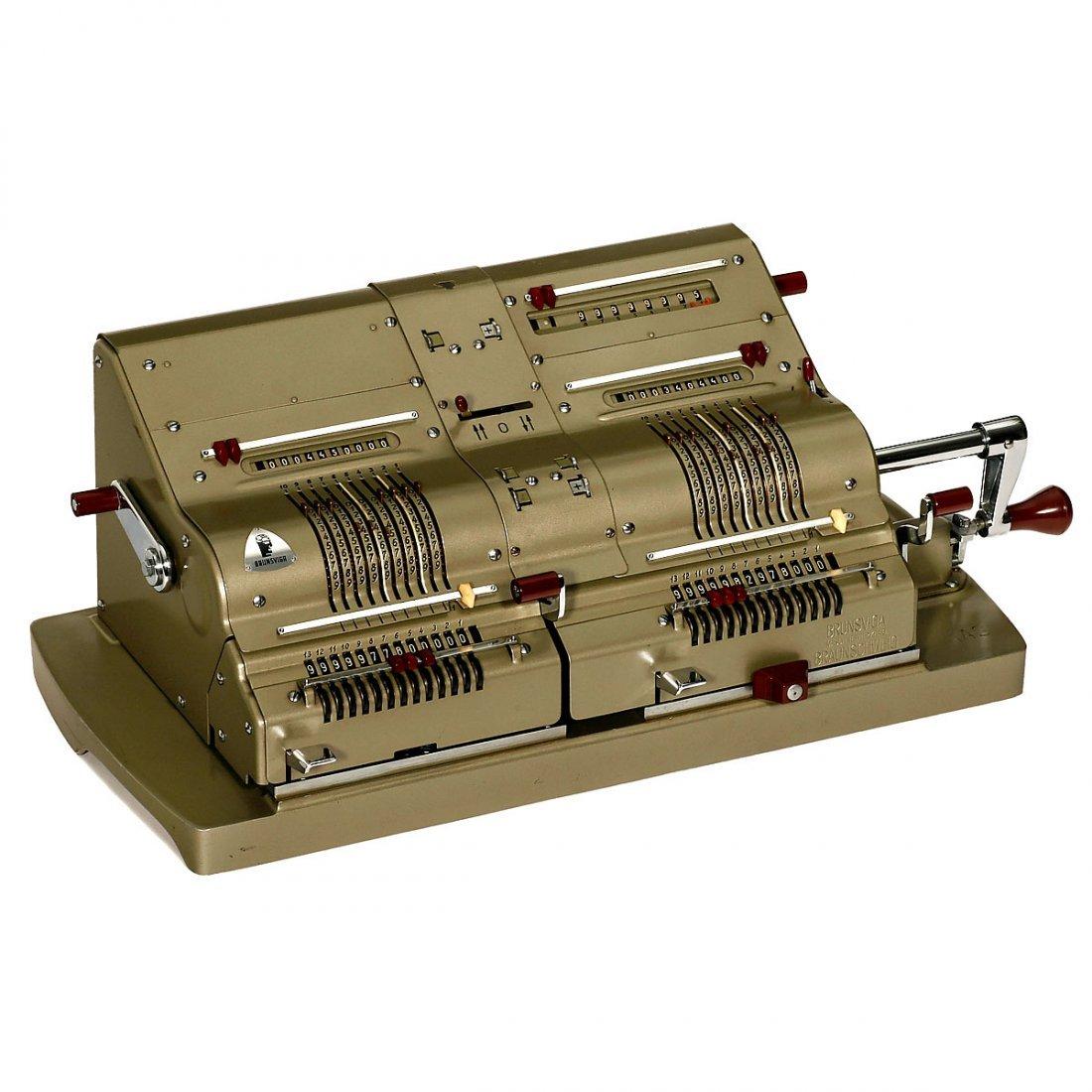 Brunsviga Mod. 14 Twin Calculator (D13-R-1), 1958
