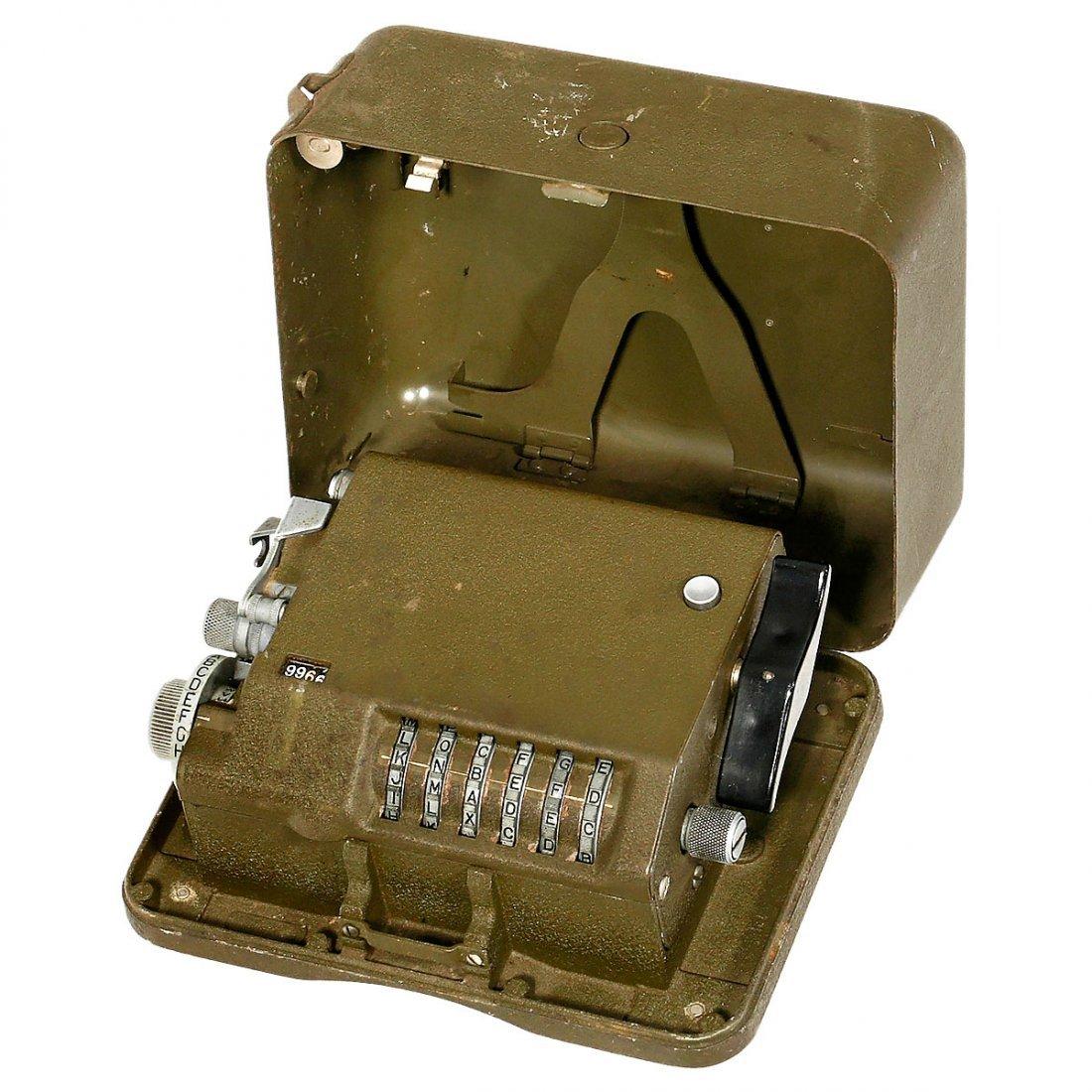 "Rare American 6-Rotor Cryptographic Machine ""M-209-B"","