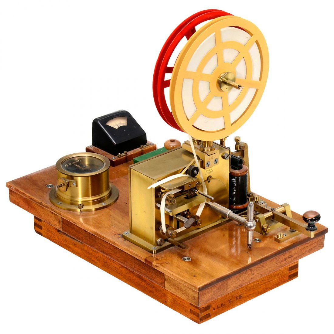 German Telegraph System by Lorenz, c. 1890