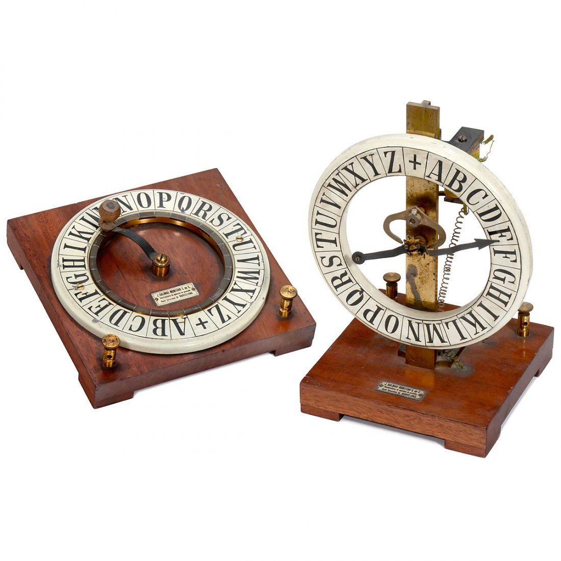 Electromagnetic Needle Telegraph, c. 1900