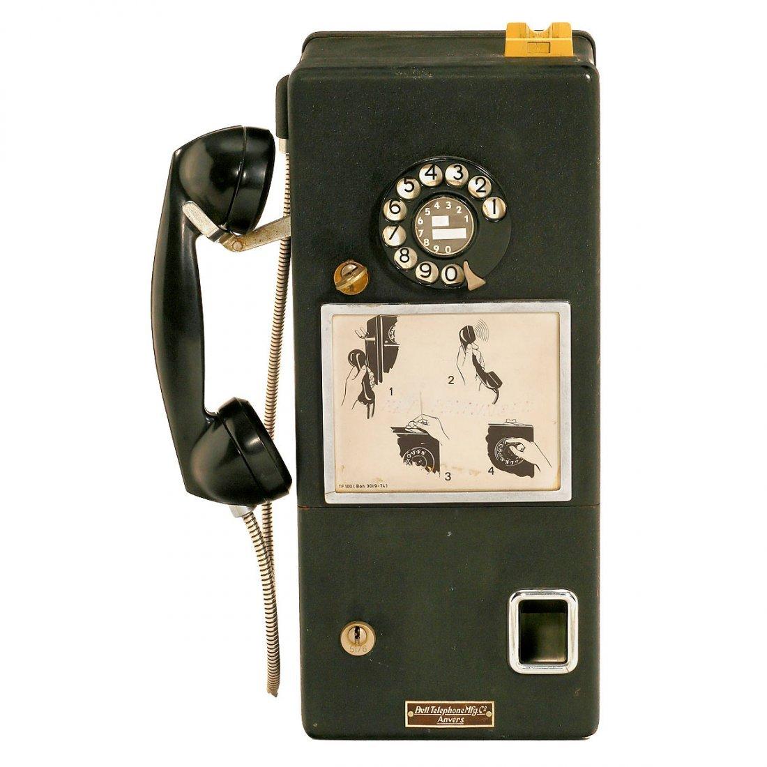 Bell Telephone Payphone, 1966