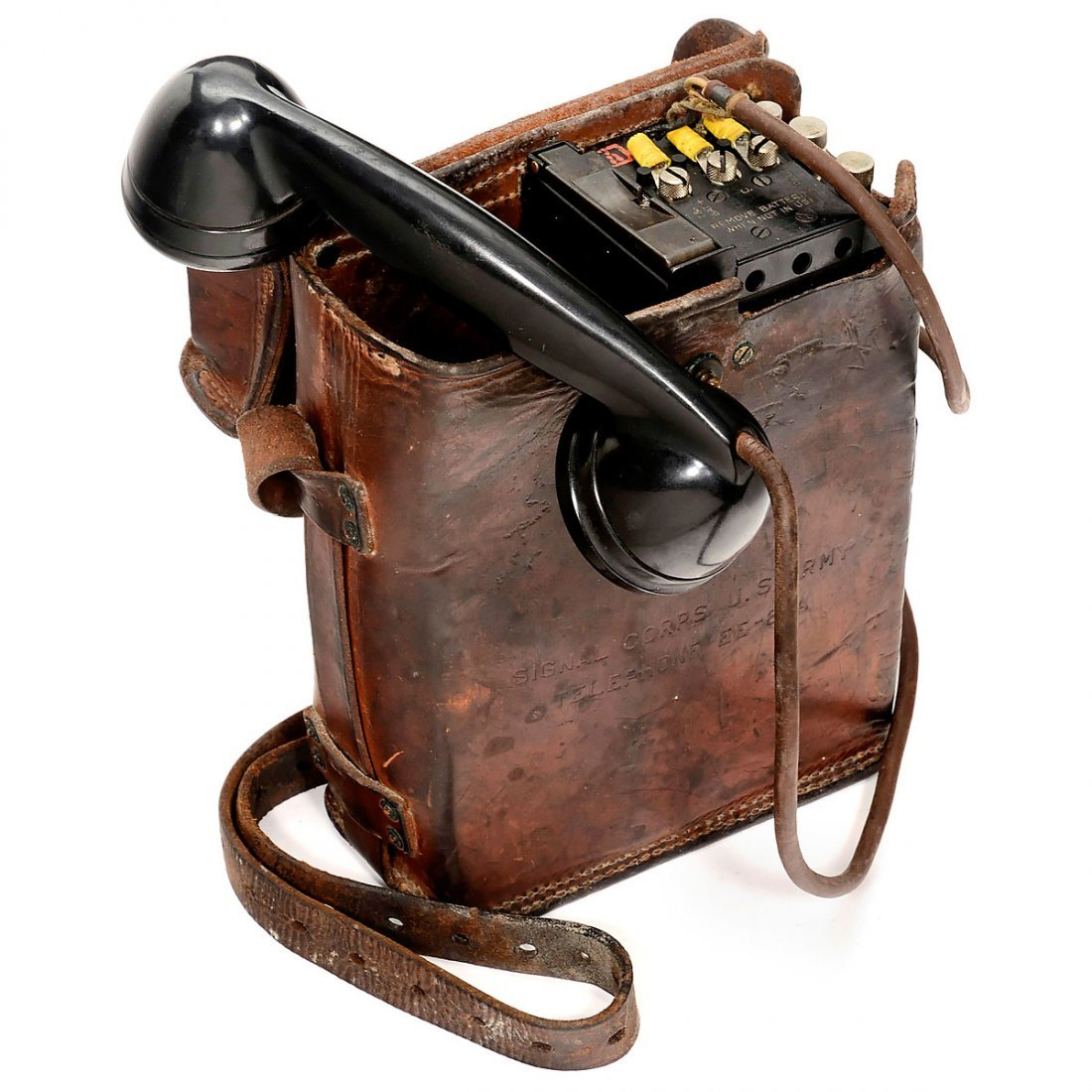EE-8-A American Military Field Telephone, c. 1940