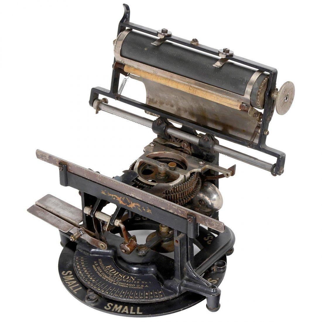 Edison Mimeograph Typewriter No. 1, 1894 - 3