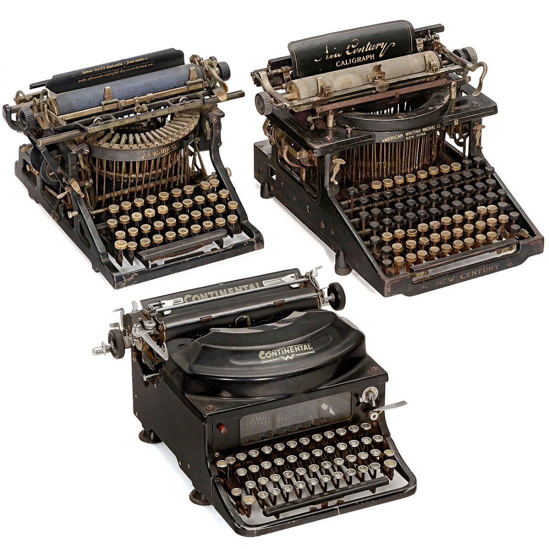 3 Typewriters