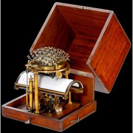"Malling-Hansen ""Writing Ball"", 1872"