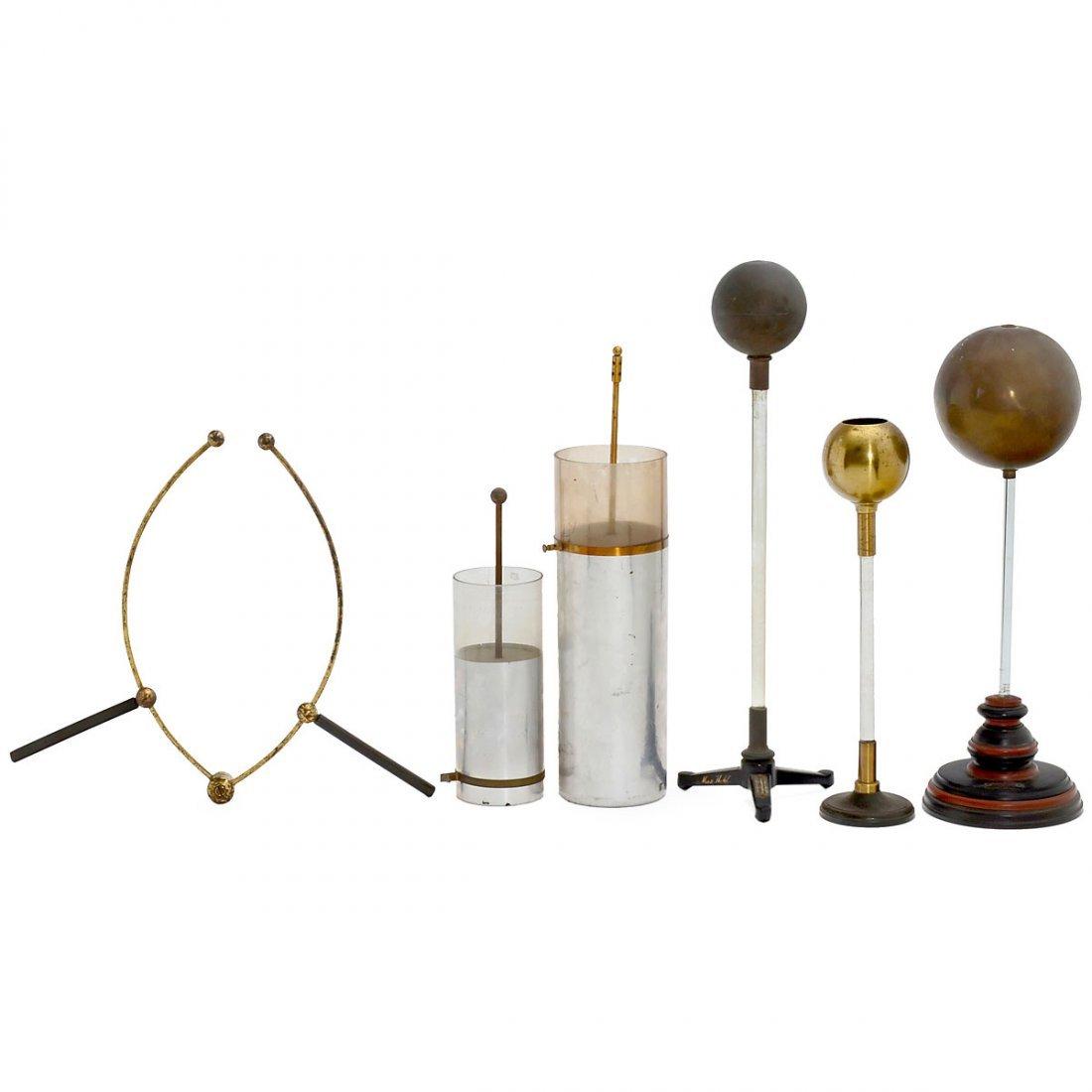 6 Physical Demonstration Models, c. 1910