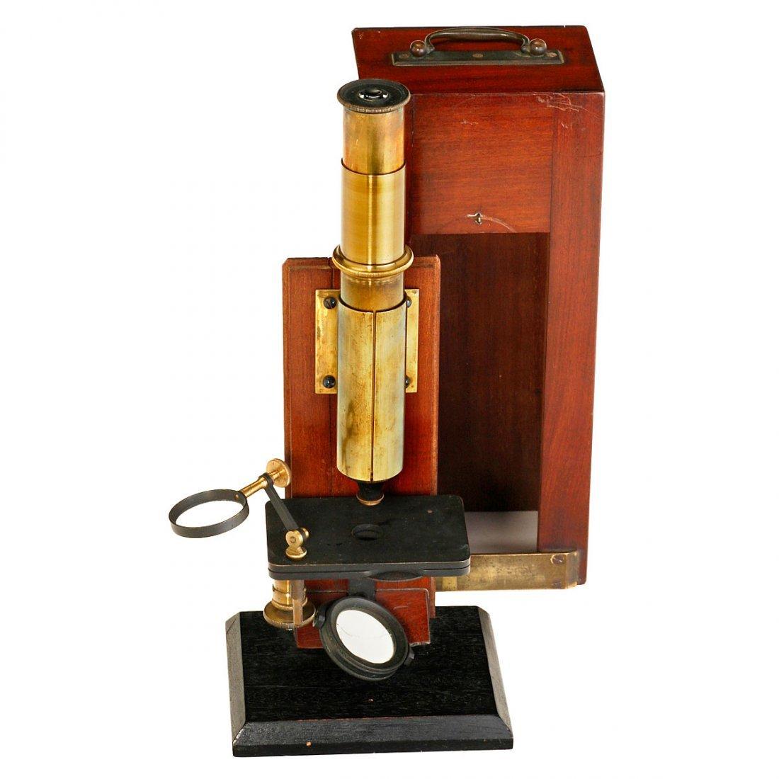 Brass Compound Microscope, c. 1860