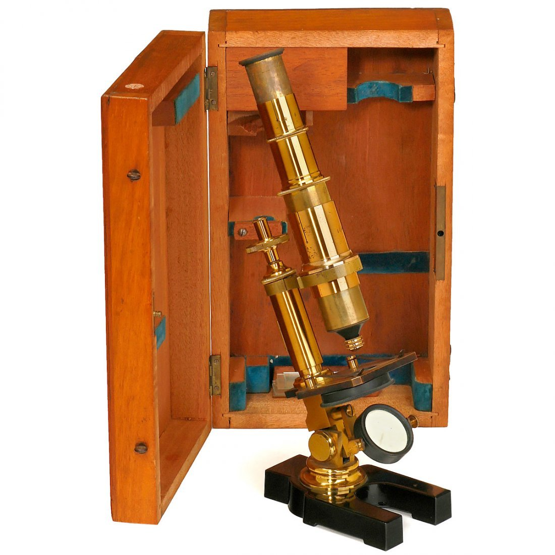 Brass Compound Microscope, c. 1880