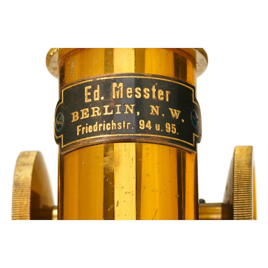 German Compound Microscope by Messter, 1899 - 2