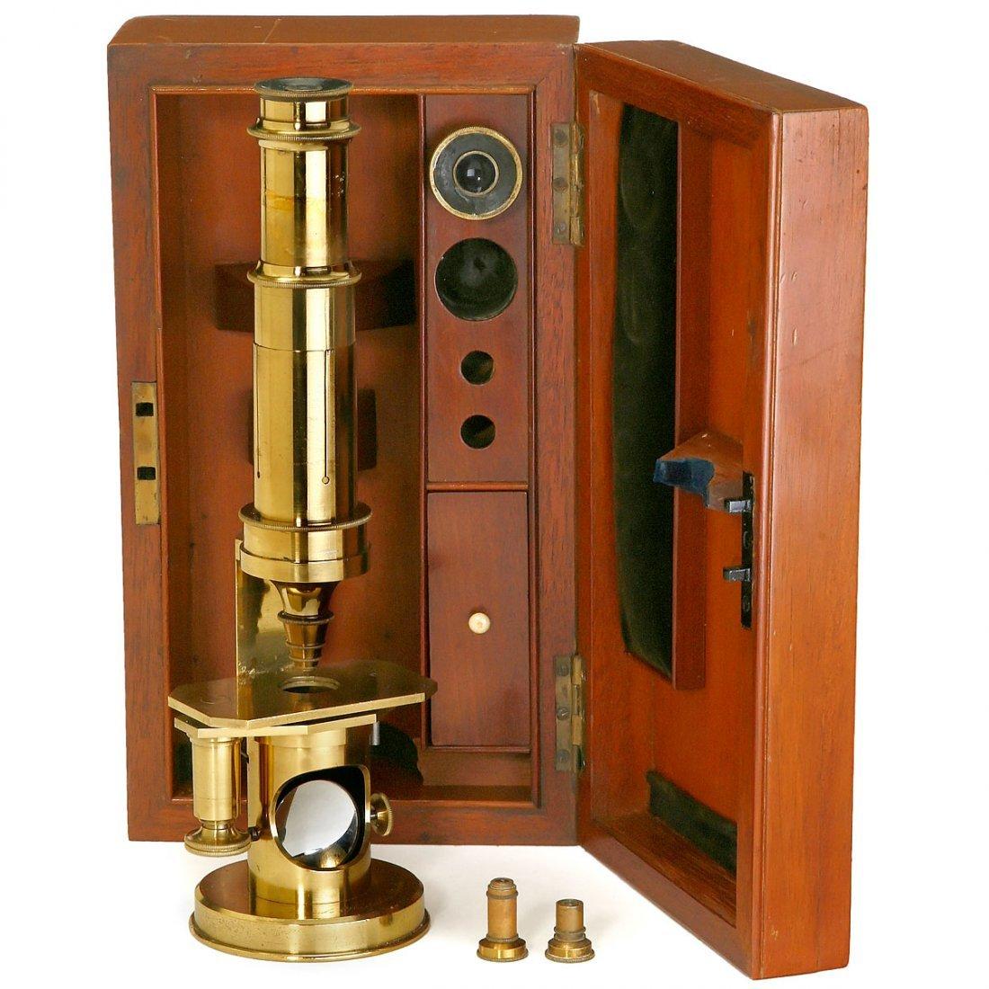 Drum-Type Microscope by Bénèche & Wasserlein, c. 1860