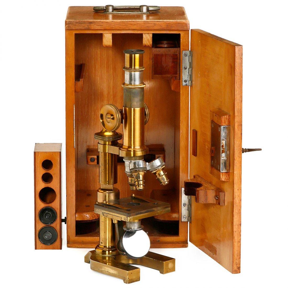 Leitz Brass Microscope, 1898