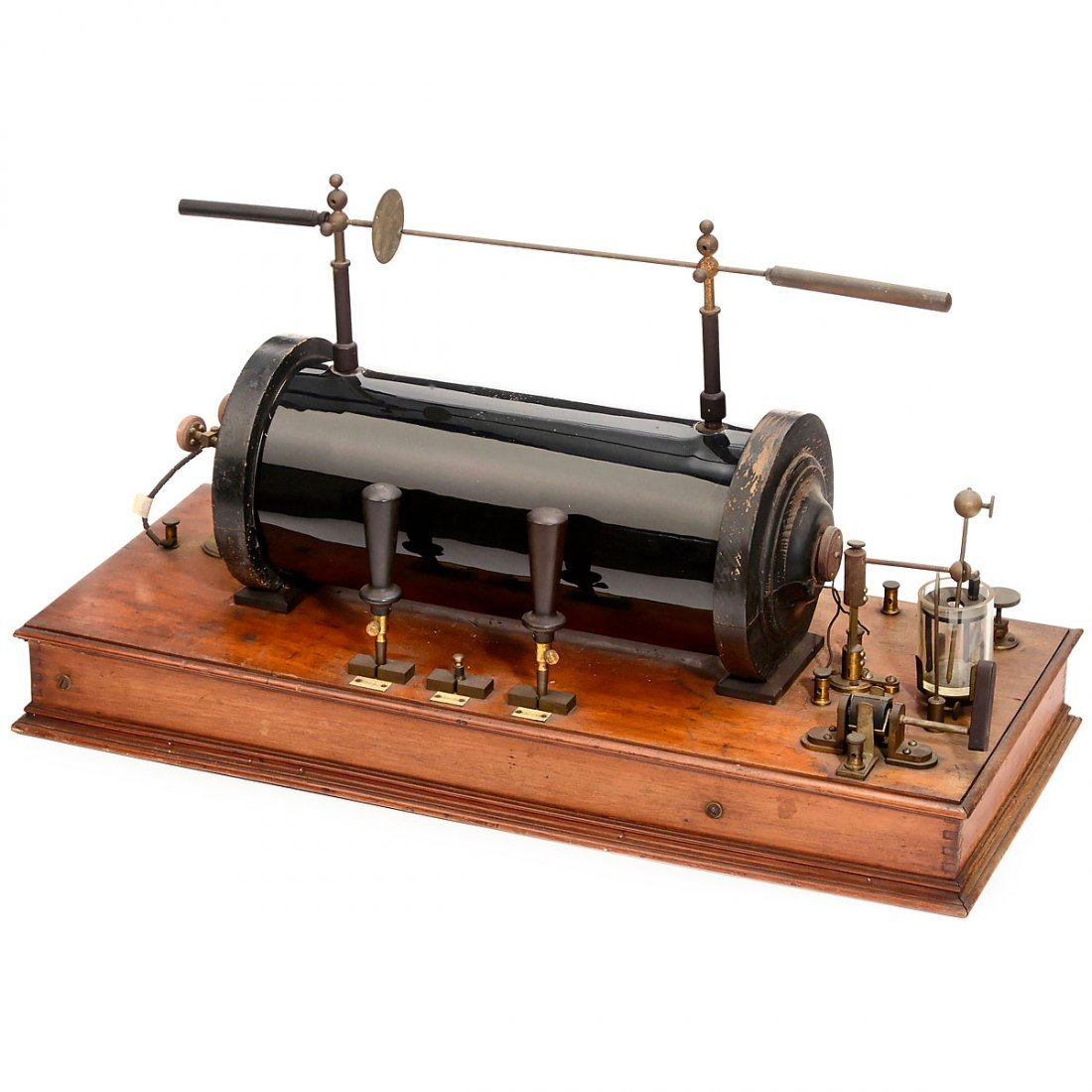 Large Induction Coil with Mercury Interrupter, c. 1910