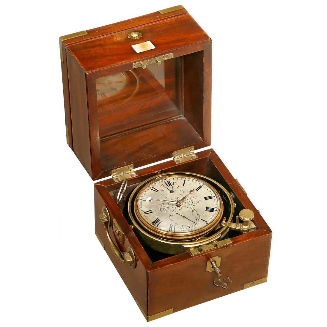 Early Two-Day Marine Chronometer by W.L. Craighead, c.