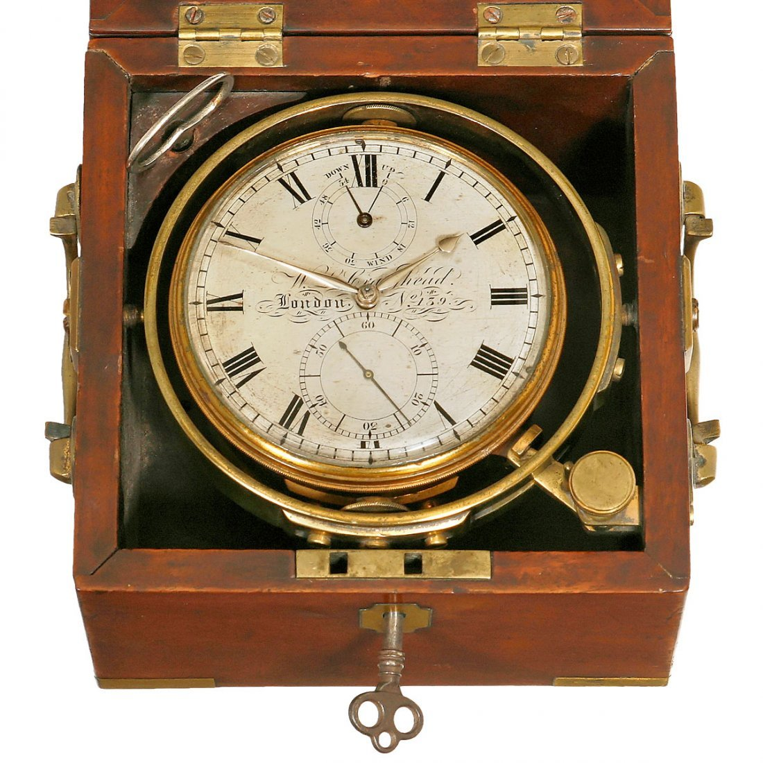 Early Two-Day Marine Chronometer by W.L. Craighead, c. - 2
