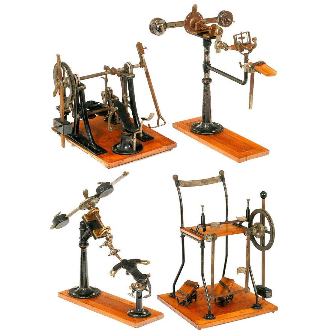 4 Orthopedic Patent Models/Salesman's Samples, c. 1880